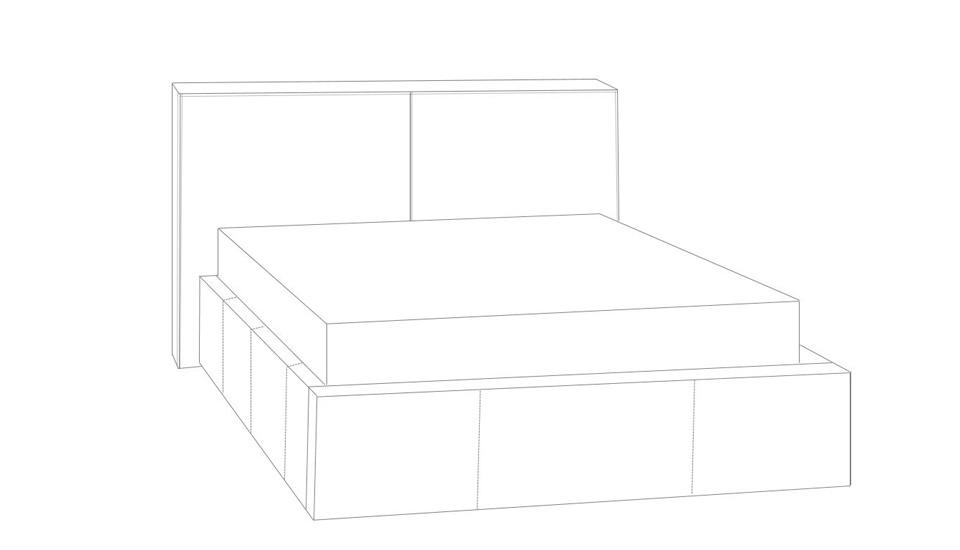 tapecirani krevet theta