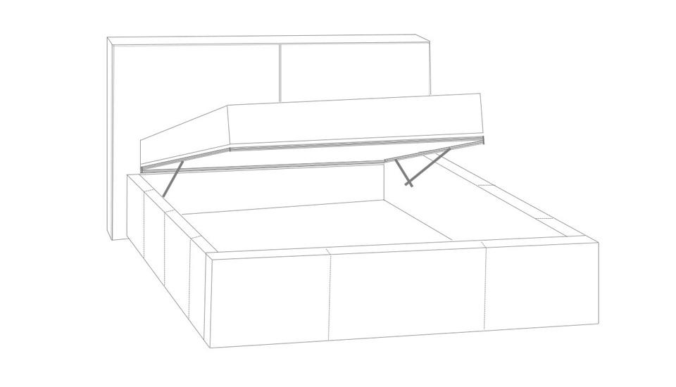 tapecirani krevet theta box