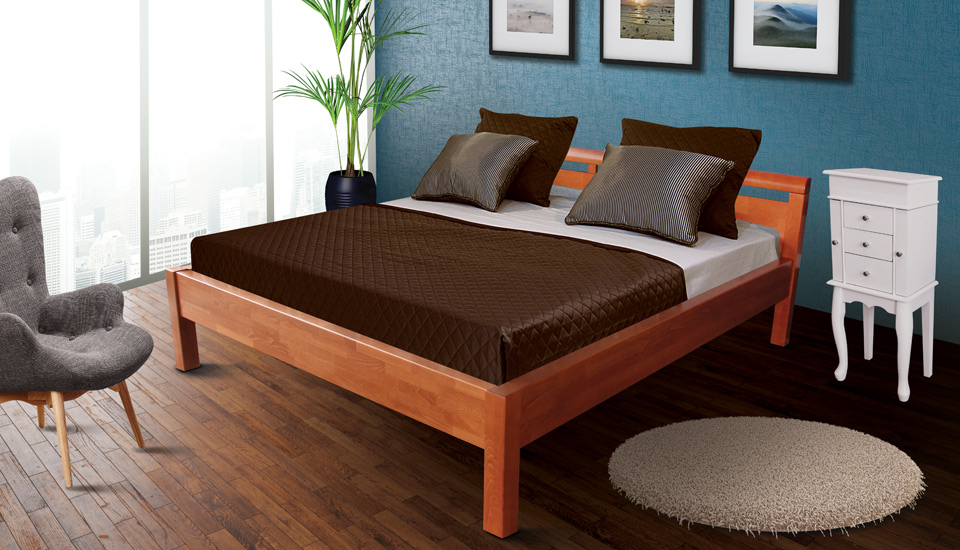 drveni krevet brilliant