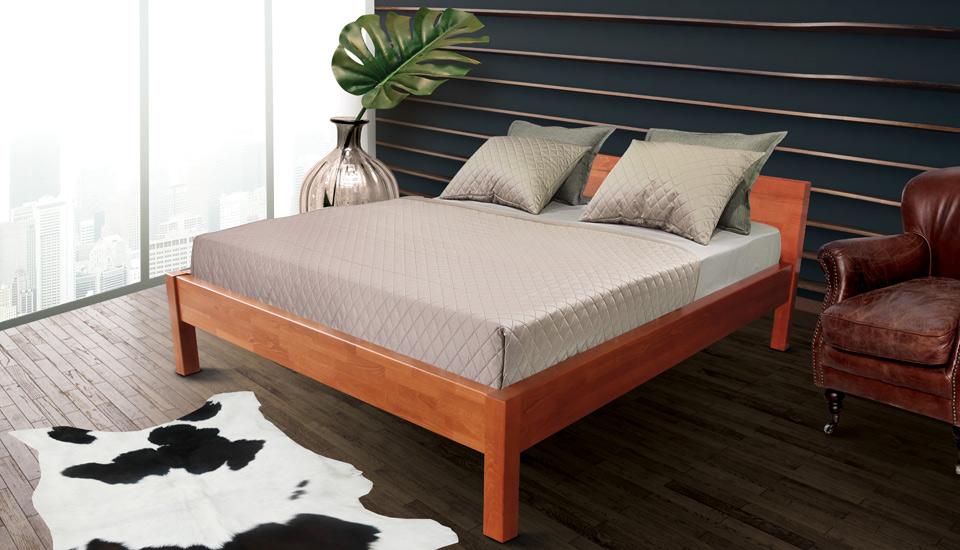drveni krevet massive